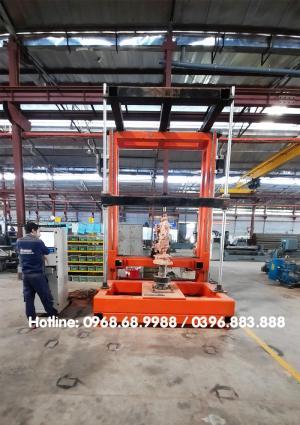 Máy đục tượng đứng đường kính 1m5 x cao 2m5 | Máy CNC thiết kế