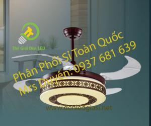 Đèn Quạt Trần NQ 8008