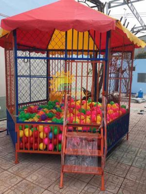 Chuyên sản xuất nhà banh ngoài trời cho trường mầm non, khu vui chơi