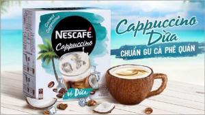 Cà Phê Cappuccino Nescafe Vị Dừa 200g - MSN181511