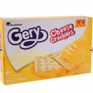 Bánh Quy Phô Mai Cheese Crackers Gery Hộp 300g - MSN181513