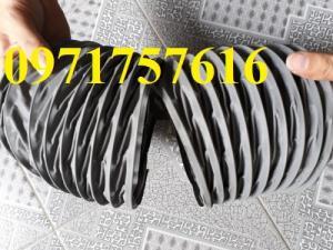 Đại lý bán sỉ bán lẻ ống gió mềm vải có lõi thép ,ống gió simili