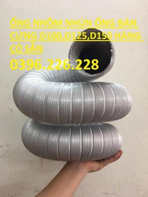 Ống nhôm nhún, ống bán cứng chịu nhiệt thông khí giá rẻ