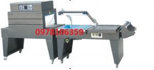 Máy cắt dán màng co POF bán tự động cho hộp khẩu trang