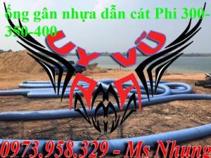 Ống nhựa kẽm xanh dày đặc biệt D400 - D350 -D300 -D250-D200