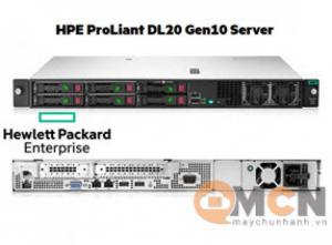 Máy Chủ HPE ProLiant DL20 Gen10 Intel Xeon E-2224 4SFF Server Rack 1U