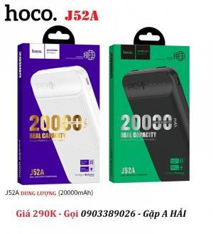 Pin dự phòng Hoco J52A dung lượng 20.000mAh chính hãng giá rẻ