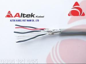 Cáp tín hiệu xoắn đôi 1 đôi / 2 đôi / 3 đôi / 4 đôi Altek Kabel