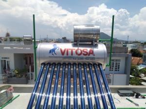 Máy nước nóng năng lượng mặt trời VITOSA tại Phú Yên