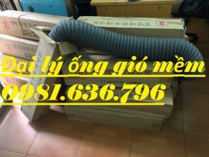 Giá ống gió mềm vải Tarpaulin D300
