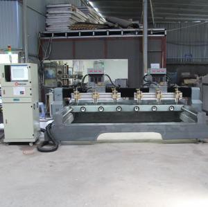 Máy CNC đục tượng gỗ 6 mũi | Máy đục gỗ 4D
