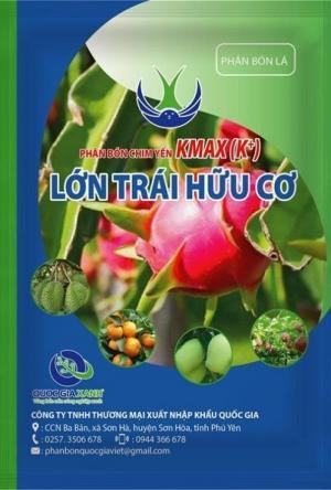 Combo 250 gói phân bón lớn trái hữu cơ kmax (k+)