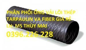 Đại lý bán ống gió mềm vải lõi thép đường kính 150,200,250,300 Hàn Quốc giá rẻ