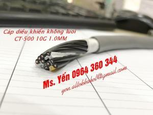 Cáp điều khiển không lưới CT-500 10G 1.0QMM Giá rẻ