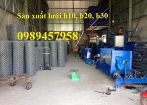 Lưới thép b30 ô 30x30 giá rẻ, lưới hàng rào b30, b20 giao hàng toàn quốc
