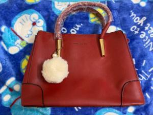Túi xách công sở kèm tag bông