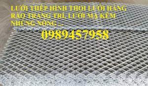 Lưới hình thoi trang trí hàng rào, lưới trang trí cầu thang, lưới xg19, xg20