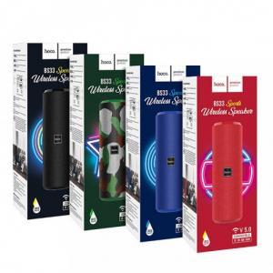 Loa Bluetooth Hoco BS33 V5.0 Chính Hãng - Pin Trâu - Hỗ Trợ AUX, USB, Thẻ Nhớ