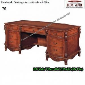 Tuyệt chiêu chọn mua bàn làm việc cổ điển gỗ quý đẳng cấp giám đốc