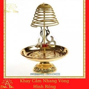 Khay Nhang Vòng  Hương