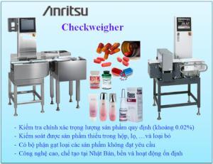 Máy kiểm tra trọng lượng Anritsu