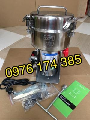 Máy xay thuốc bắc 2500G (2.5kg) inox SUS 304 giá rẻ, hàng chính hãng