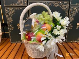 Giỏ hoa quả chia buồn - FSNK175