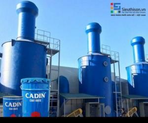 Cung cấp sơn lót chịu nhiệt CADIN 600 độ C giá rẻ uy tín nhất