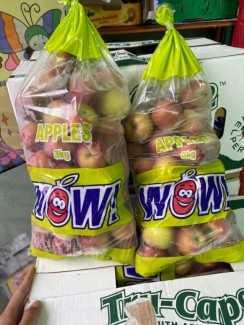 Táo Fuji Nam Phi  túi 3kg trái cây nhập khẩu hàng bay tươi ngon