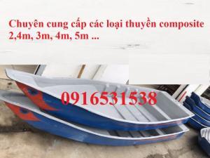 Thuyền nhựa, xuồng nhựa 3m, 3,5m, 4m giá rẻ