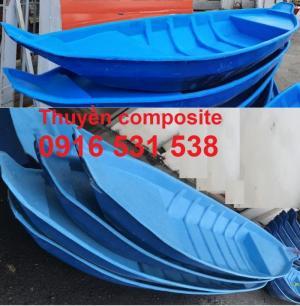 Thuyền composite, xuồng composite 3m, 3,5m và 4m giá rẻ
