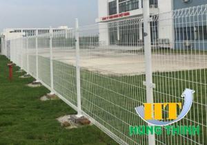 Báo giá thi công hàng rào lưới thép hàn