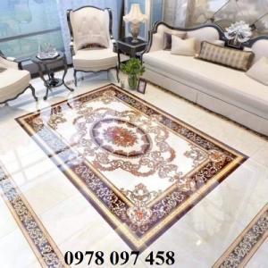 Gạch thảm hiện đại phòng khách