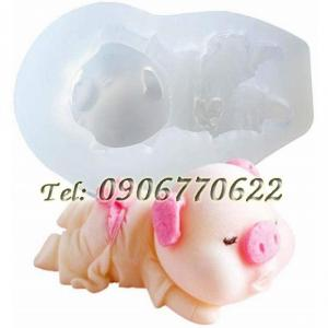 Khuôn silicon heo con – Mã số 332