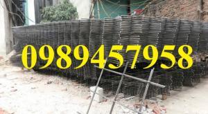 Lưới hàn chập phi 4 ô 50x50, 100x100 khổ 1x2m, 1,2mx2m, 1,5mx3m