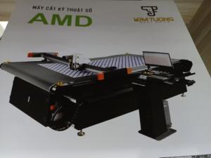 Máy cắt kỹ thuật số AMD - 2516 hai đầu bàn cuộn