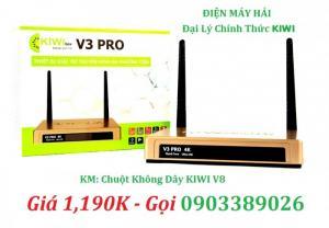 Đầu KiWiBox V3 PRo Ram 2G hỗ trợ Bluetooth Karaoke