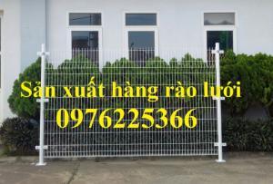 Lưới hàng rào công trình, hàng rào công nghiệp, hàng rào bảo vệ