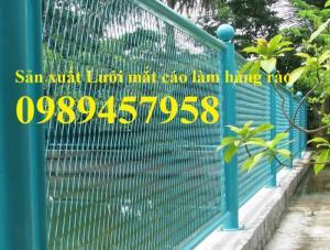 Lưới hàng rào mắt cáo, lưới hình thoi trang trí, lưới hàng rào hình thoi