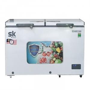 Tủ đông mát Sumikura SKF-400DI 400 lít dàn đồng kính lùa