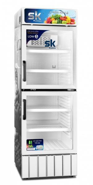 Tủ mát sk sumikura sksc-400d2 400 lít 2 cửa