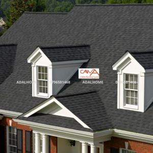 Ngói Bitum phủ đá Cana - Biến hóa cùng phong cách mái nhà bạn