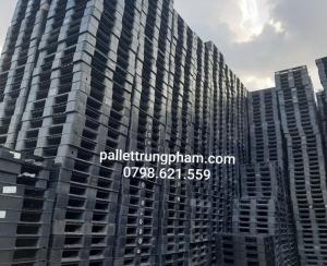 Pallet nhựa công nghiệp mới/cũ giá rẻ