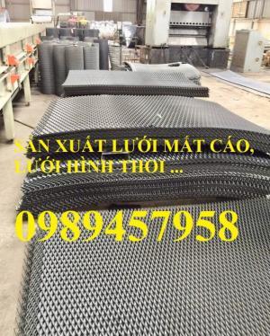 Lưới hình thoi inox304, lưới măt cáo inox 304, lưới dập giãn inox 304