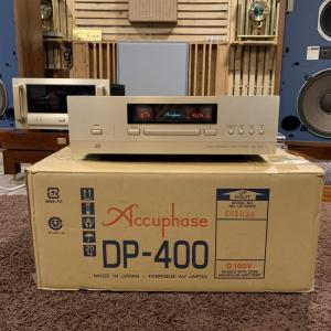 CD Accuphase DP-400