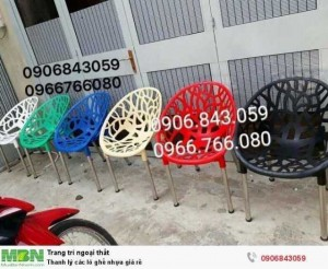 Thanh lý các lô ghế nhựa giá rẻ