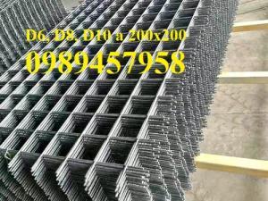 Sản xuất lưới thép tấm Phi 4, phi 5, phi 6, phi 8 lưới thép đổ sàn 200x200