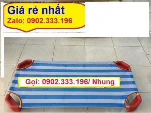 Chuyên bán giường mầm non bằng lưới chân đỏ
