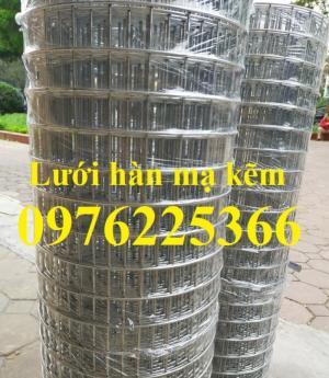Lưới thép hàn mạ  kẽm D3a50x50 có sẵn giá rẻ