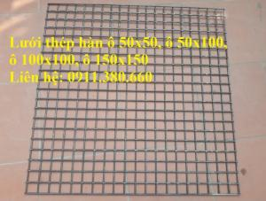 Lưới thép hàn chập D4, D5, D6 ô 50x50, ô 100x100, ô 50x100,...